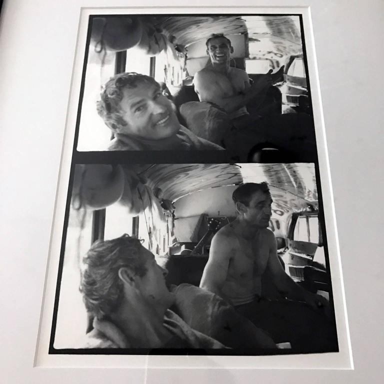 Photograph of Neal Cassidy and Timothy Leary by Allan Ginsberg 2