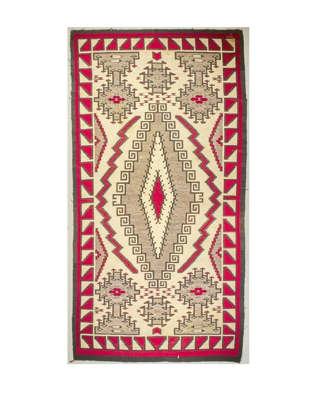 Large And Rare Antique Navajo Klagetoh Rug For Sale At 1stdibs