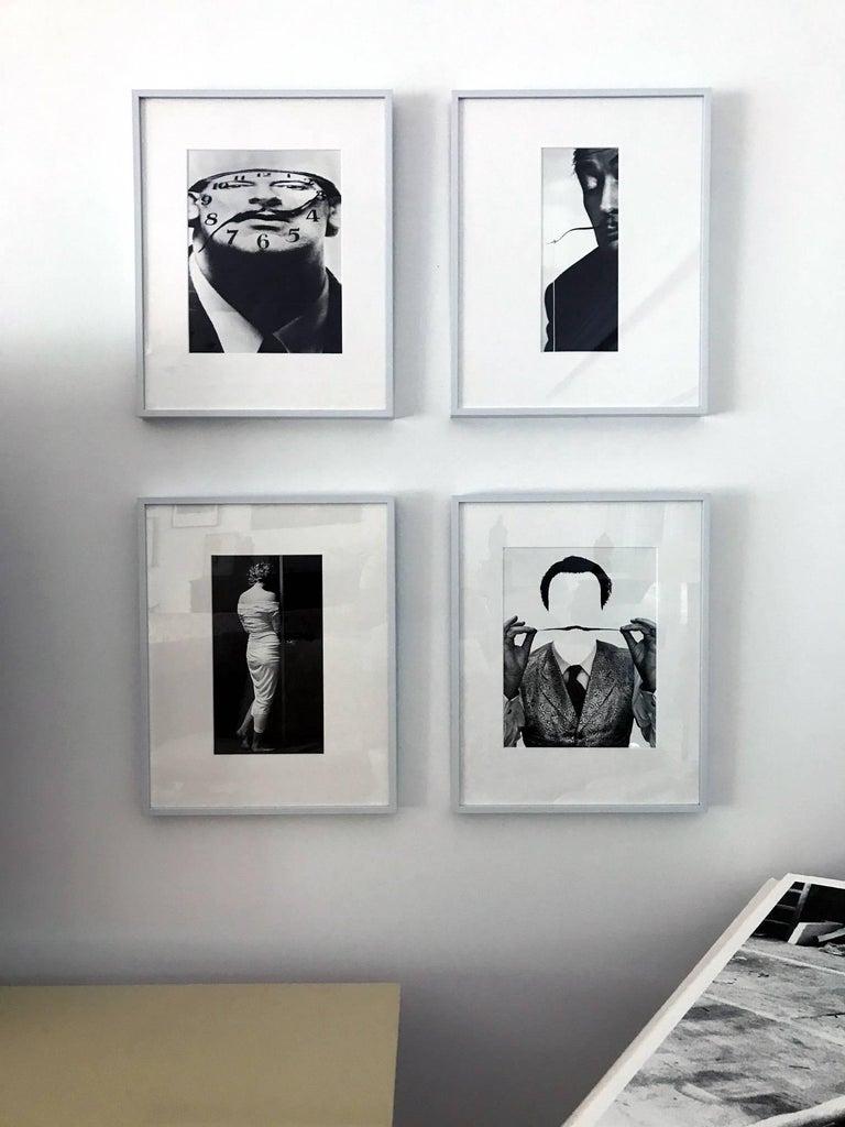 Artist: Philippe Halsman (1906-1979) Medium: Gelatin silver print Title: Dali Fishing Date: 1954; Printed in 1981 as part of the ten-piece Dali Portfolio by Stephen Gersh and the Neikrug Press under the supervision of Halsman's widow