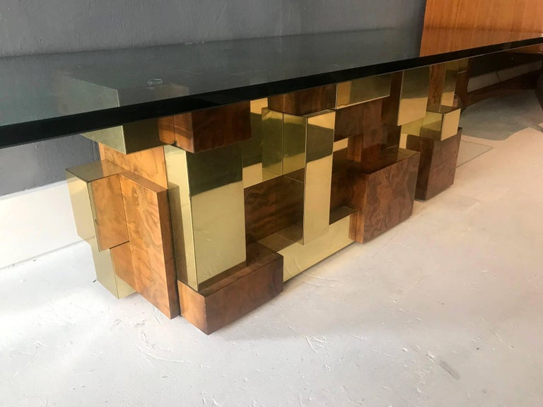 American Rare Model Cityscape Coffee Table by Paul Evans for Directional For Sale