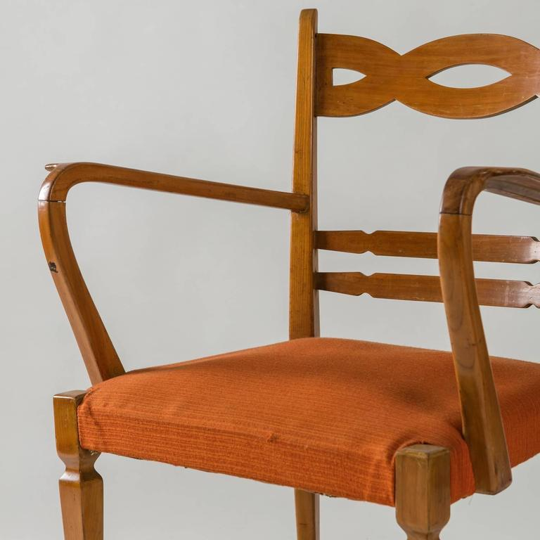 1940s Armchair by Paolo Buffa by Marelli For Sale