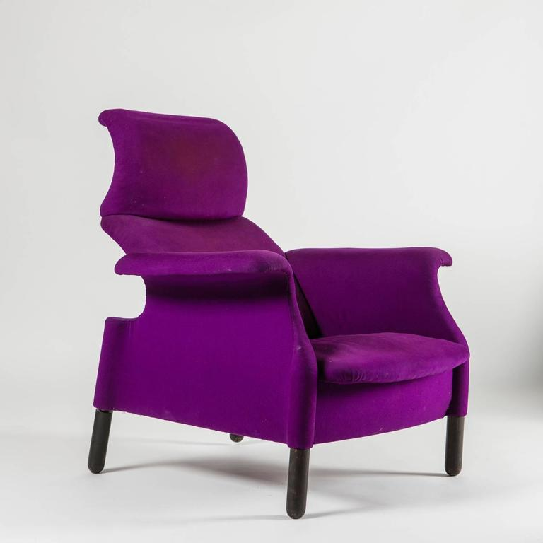 "Pair of ""Sanluca"" Lounge Chairs by Castiglioni for Gavina 4"
