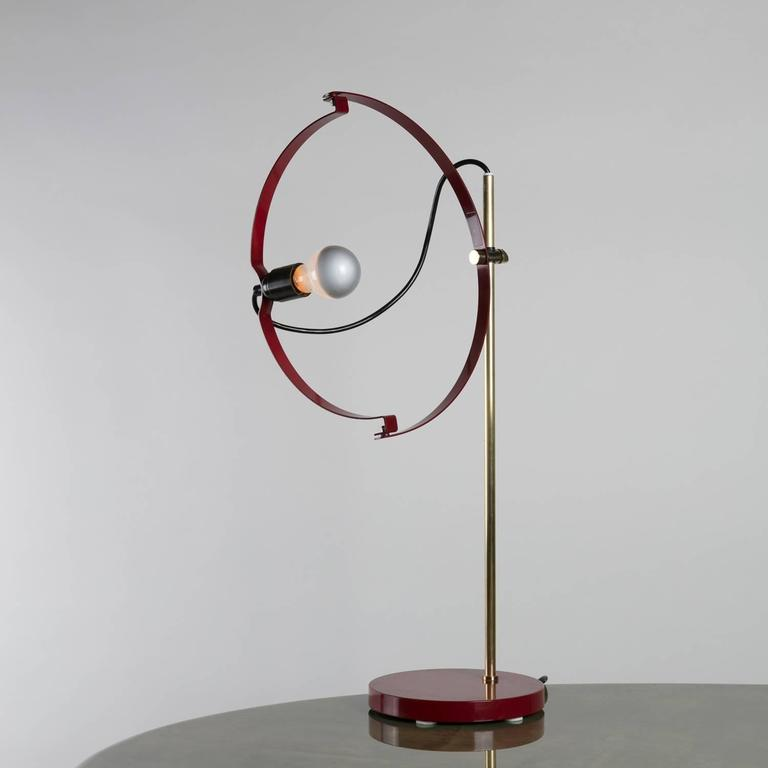 Remarkable table lamp by Reggiani.