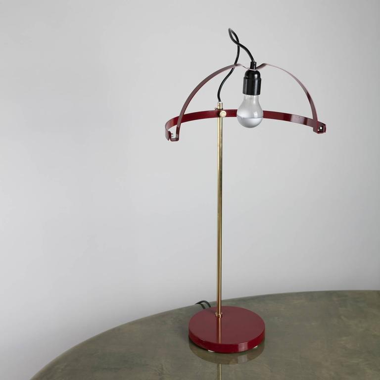 Late 20th Century Rare Table Lamp by Reggiani For Sale