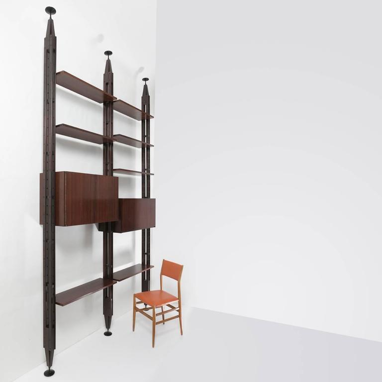 """""""Lb7"""" Bookcase by Franco Albini for Poggi 3"""