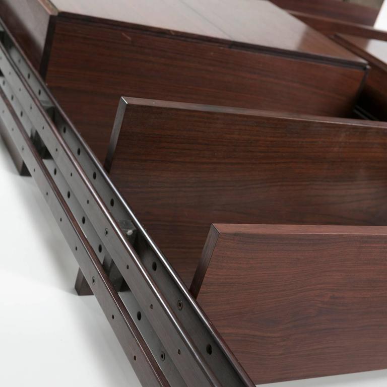 """""""Lb7"""" Bookcase by Franco Albini for Poggi 5"""