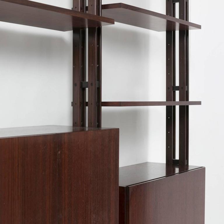 """""""Lb7"""" Bookcase by Franco Albini for Poggi 8"""