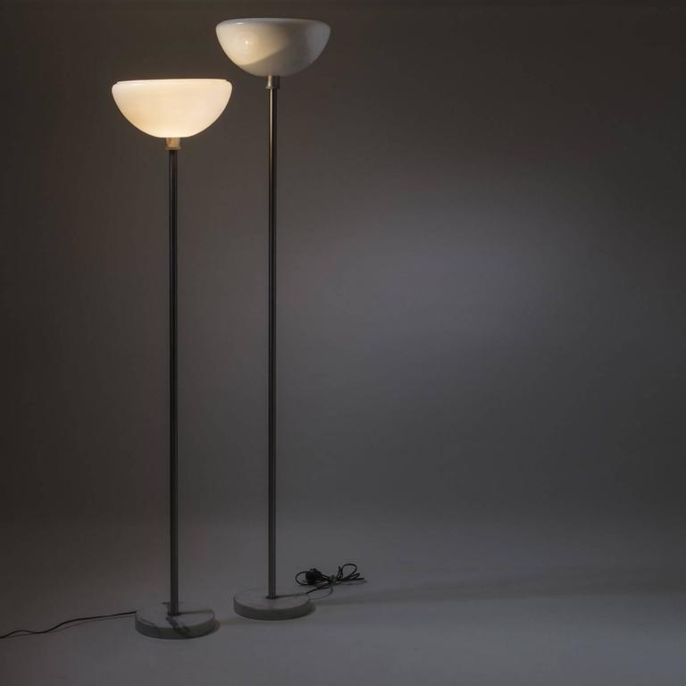Pair Of Quot Papavero Quot Floor Lamps By Castiglioni For Flos For