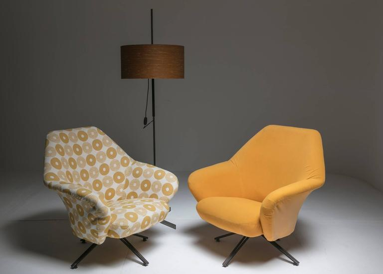 "Set of Two ""P32"" Lounge Chairs by Osvaldo Borsani for Tecno 8"
