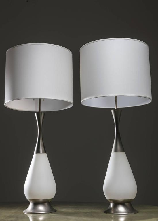 Marvellous Pair of Stilnovo Table Lamps In Good Condition For Sale In Milan, IT