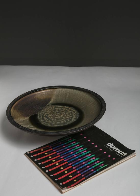 Ceramic Centerpiece by Nanni Valentini for Ceramiche Arcore In Good Condition For Sale In Milan, IT
