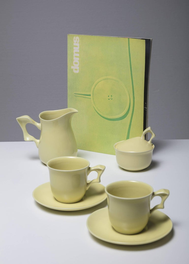 Mid-20th Century Ceramic Set by Antonia Campi for SCI Laveno For Sale