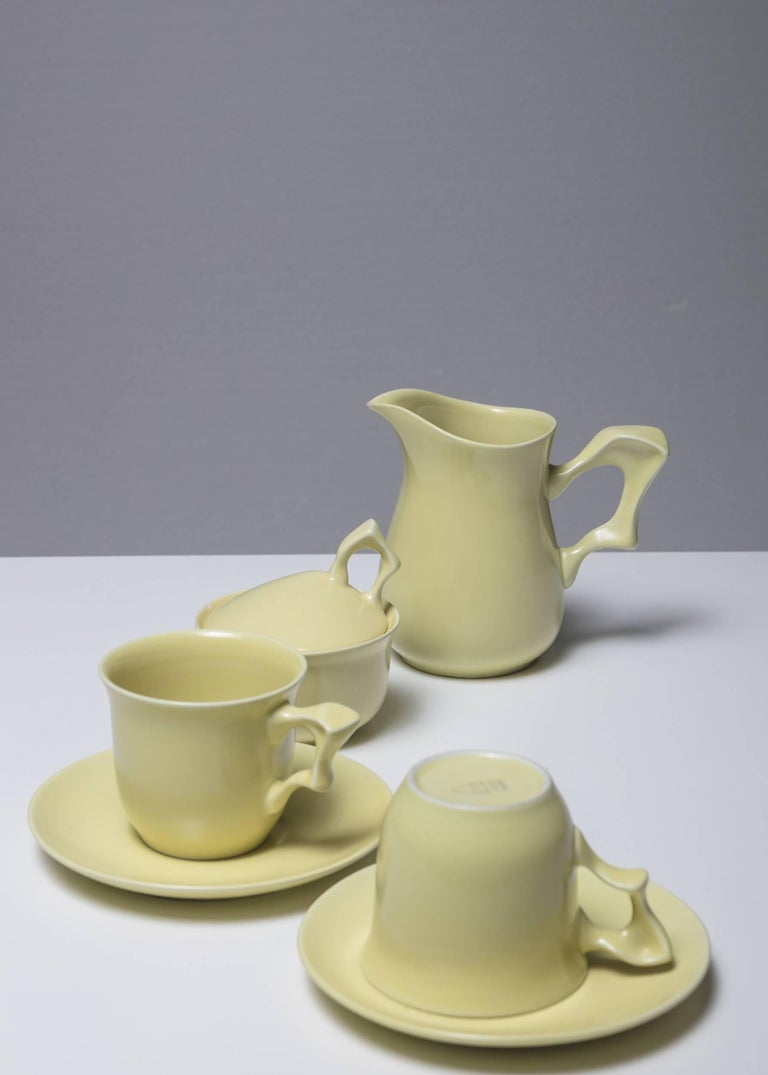 C205 breakfast set by Antonia Campi for SCI Laveno.