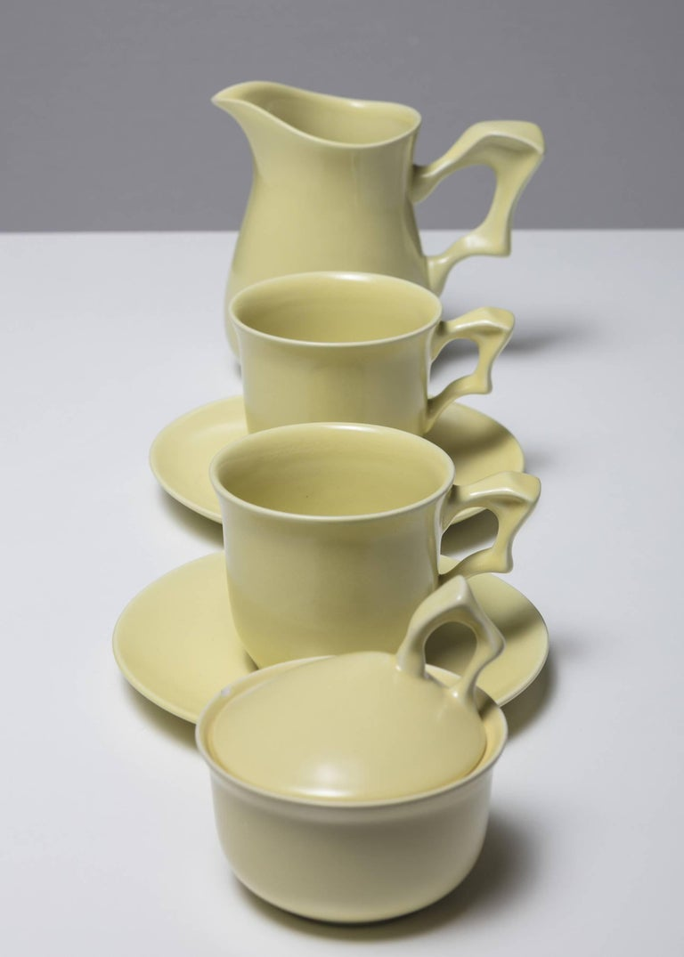 Italian Ceramic Set by Antonia Campi for SCI Laveno For Sale