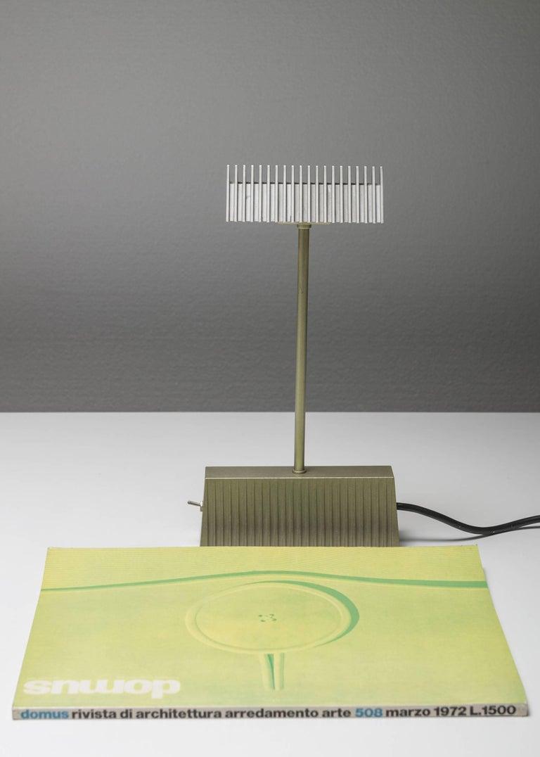 """""""Scintilla"""" Table Lamp by Livio and Piero Castiglioni for Fontana Arte In Good Condition For Sale In Milan, IT"""