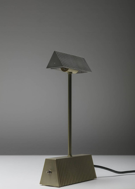 """Minimalist """"Scintilla"""" Table Lamp by Livio and Piero Castiglioni for Fontana Arte For Sale"""
