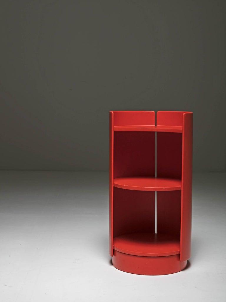 Italian Revolving Bookcase by Kazuhide Takahama for Gavina For Sale