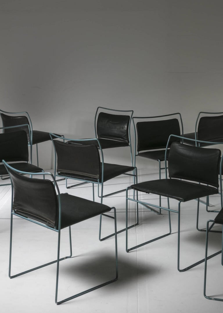 Remarkable set of ten Tulu chair by Kazuhide Takahama for Simon Gavina.