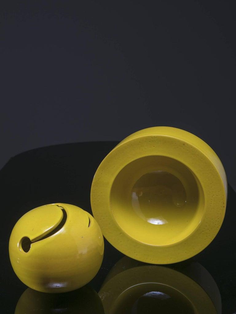 Italian 1960s Ceramic Sculpture by Franco Bucci For Sale 2