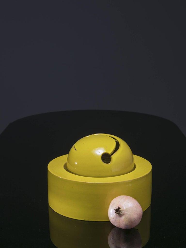 Italian 1960s Ceramic Sculpture by Franco Bucci For Sale 3