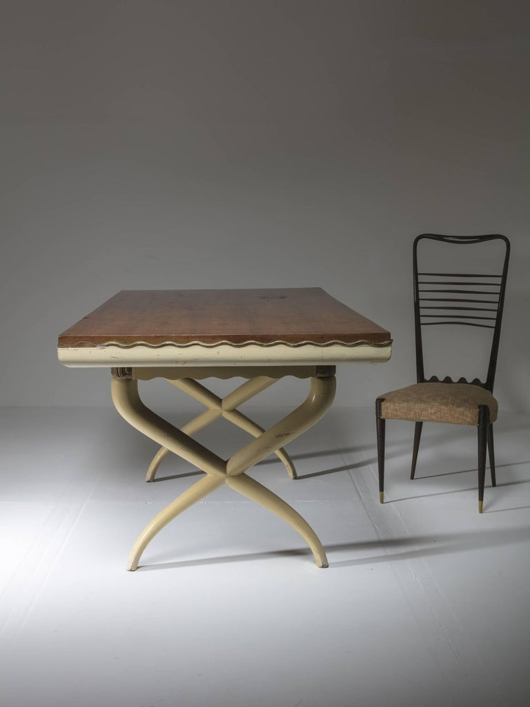 Mid-20th Century Italian, 1930s Table in the Style of Tomaso Buzzi For Sale