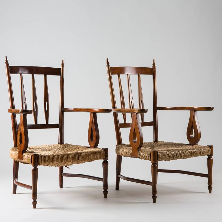 Pair of 1930s Lounge Chairs by Paolo Buffa 2