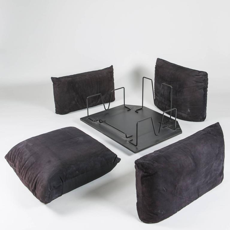 """Set of two """"Marenco"""" Chairs by Mario Marenco for Arflex 5"""