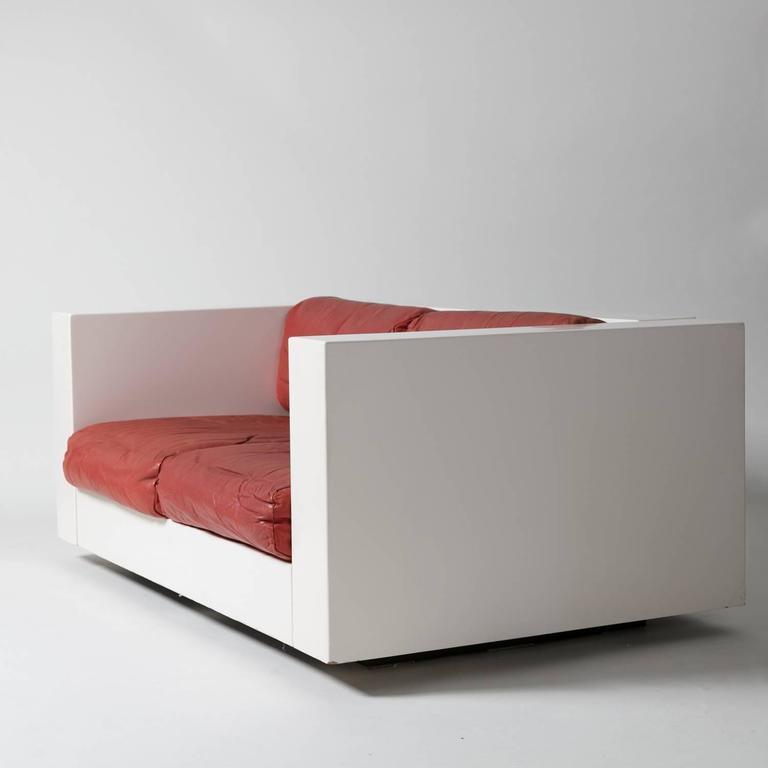 """Saratoga"" Settee by Massimo Vignelli for Poltronova 2"