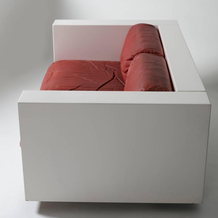 """Saratoga"" Settee by Massimo Vignelli for Poltronova 3"