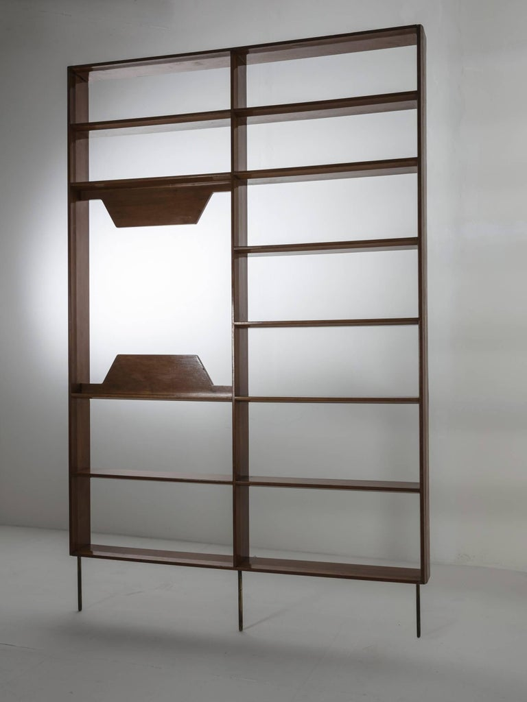 Remarkable one-off wall unit by Mario Gottardi.