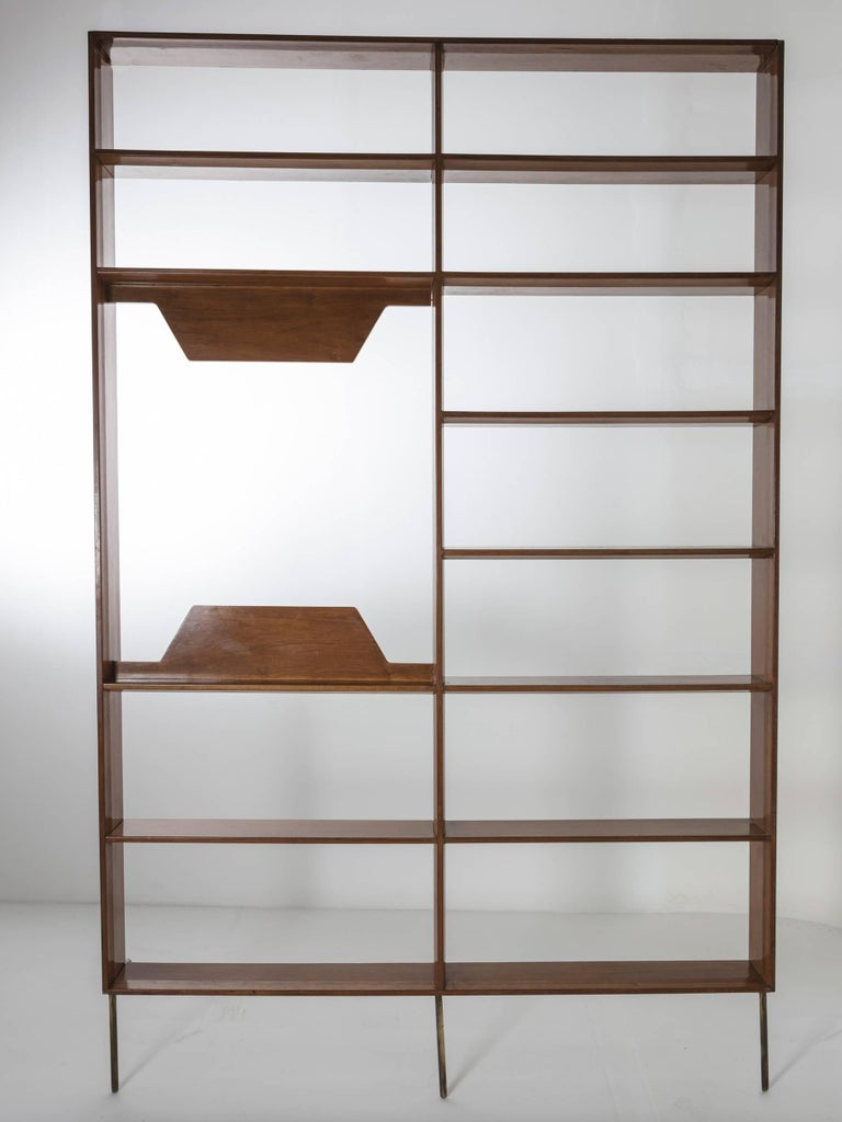 Mid-Century Modern One-Off Wall Unit by Mario Gottardi For Sale