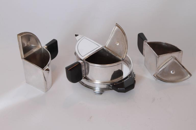 Art Deco Jean Theobald For Wilcox Silver Plate Company