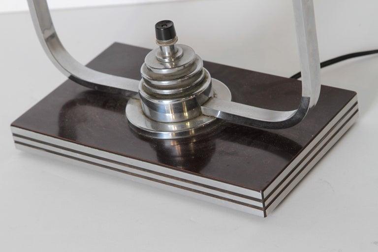 Machine Age Art Deco Markel Table Lamp For Sale 1