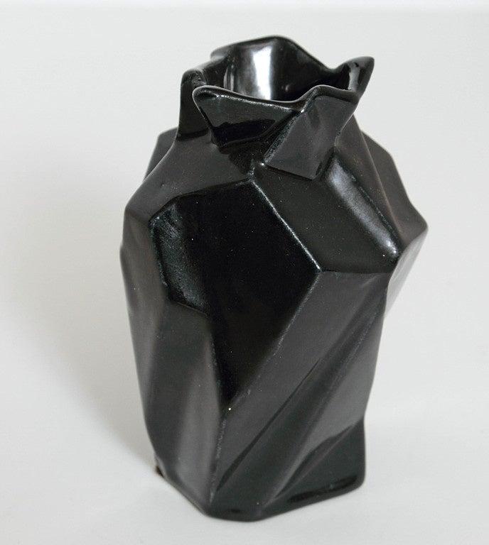 Art Deco Collection Original Reuben Haley Muncie Rombic Cubist Pottery