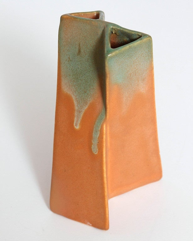 American Collection Original Reuben Haley Muncie Rombic Cubist Pottery