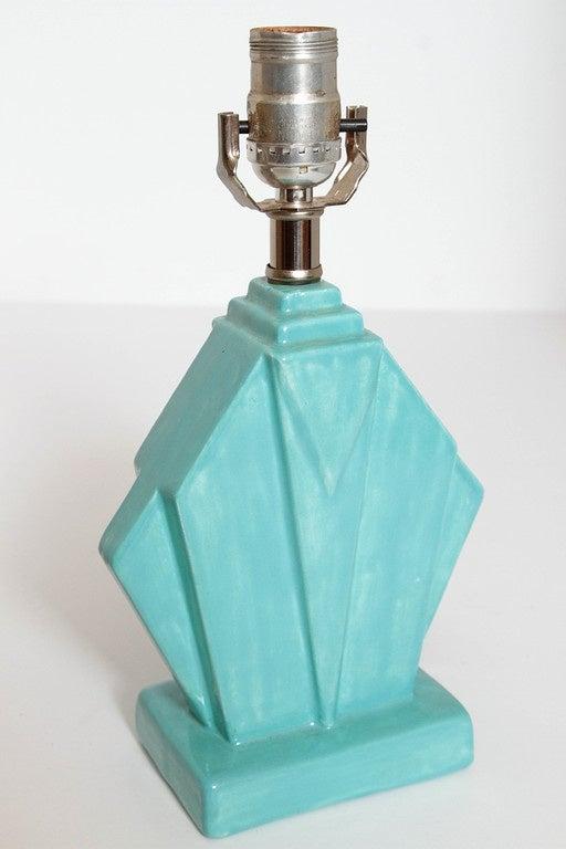 Collection Original Reuben Haley Muncie Rombic Cubist Pottery 3