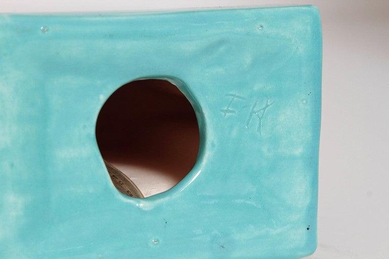 Collection Original Reuben Haley Muncie Rombic Cubist Pottery 4