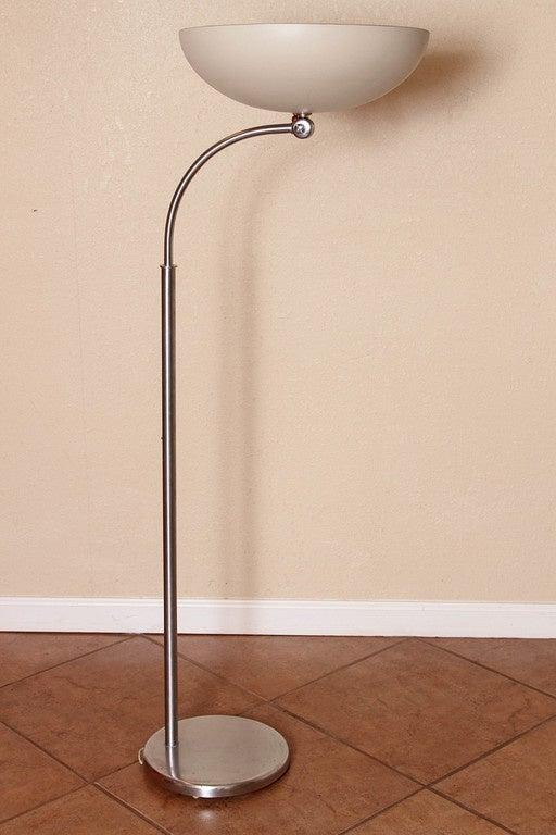 Nessen Studio Art Deco Machine Age Floor Lamp Early