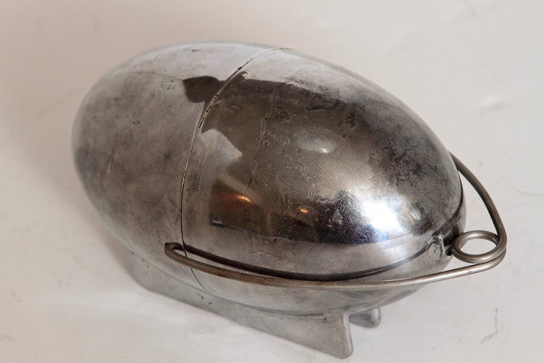Art Deco Machine Age Potato Baker, Raymond Barton for Na - Mac For Sale 2