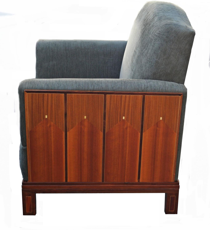 Pair Of Eliel Saarinen House Lounge Armchairs Art Deco At