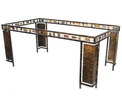 Silas Seandel Deco Brutalist Dining Table or Desk Base