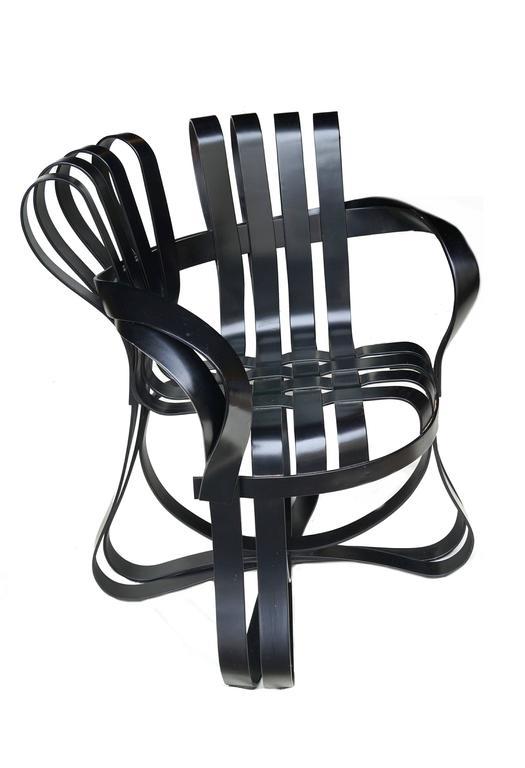 American Frank Gehry Knoll Cross Check Armchair
