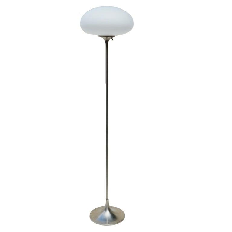 Mid-Century Modern Laurel Floor Mushroom Lamp