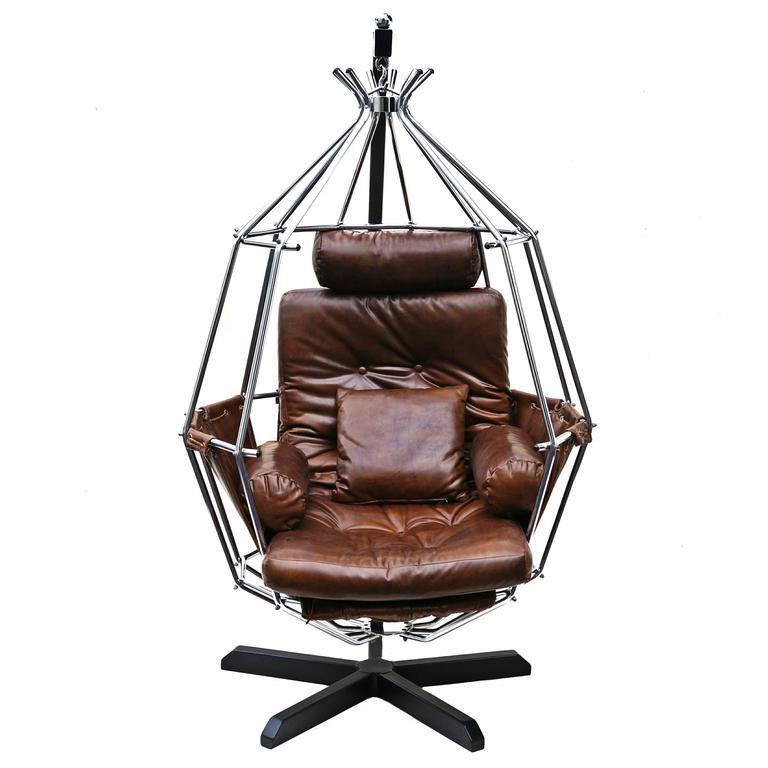 Ib Arberg Hanging Parrot Mid-Century Modern Chair