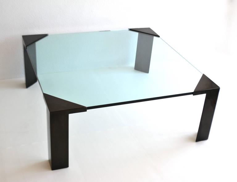 Post-Modern Cocktail or Coffee Table In Excellent Condition For Sale In West Palm Beach, FL
