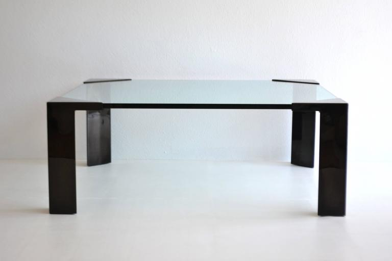 Enameled Post-Modern Cocktail or Coffee Table For Sale