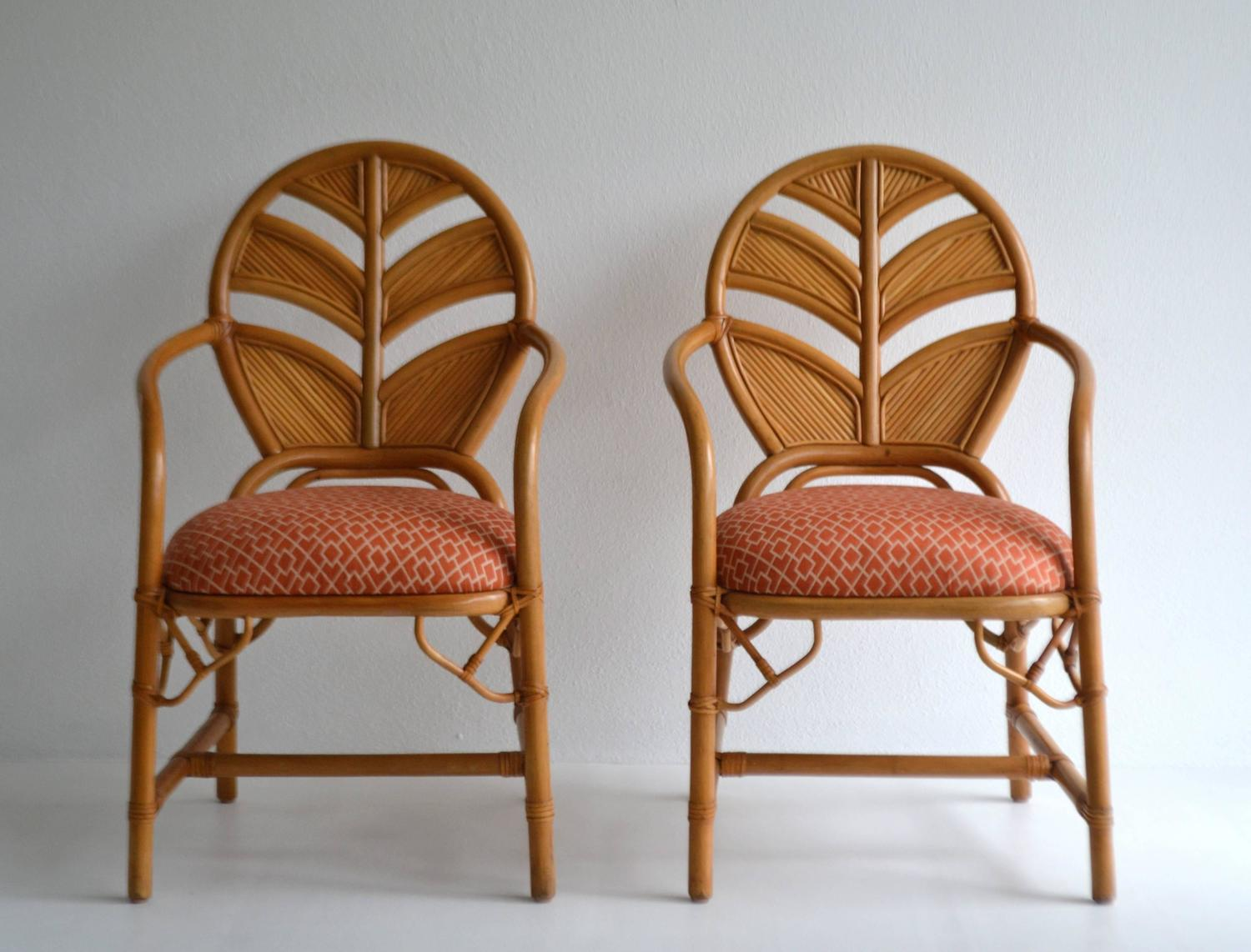 Pair Of Hollywood Regency Style Hall Chairs At 1stdibs