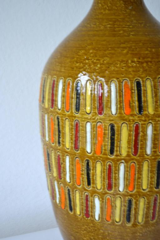 Mid-20th Century Midcentury Italian Ceramic Table Lamp For Sale