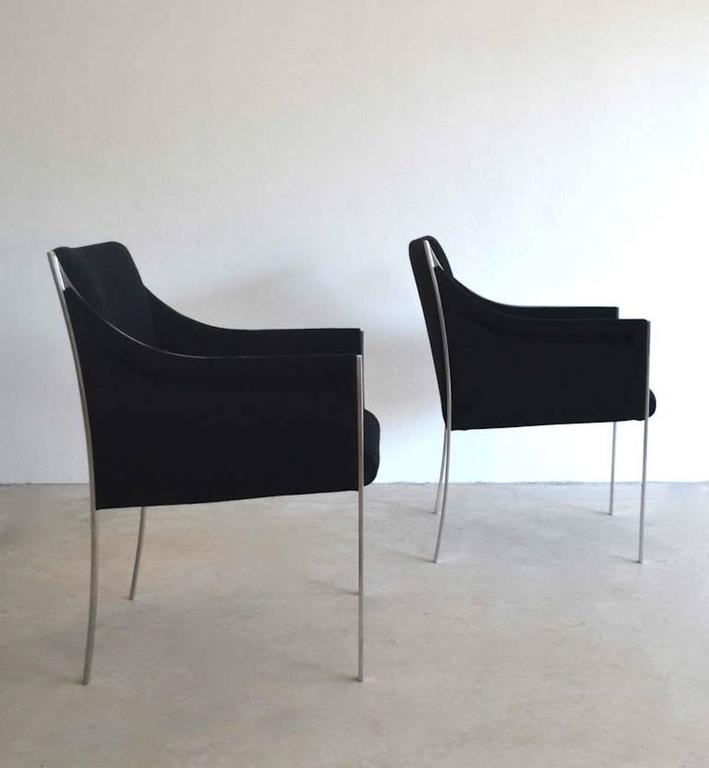 Mid-Century Modern Pair of Midcentury Occasional Chairs or Lounge Chairs by Jens Risom For Sale
