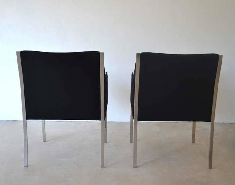 Danish Pair of Midcentury Occasional Chairs or Lounge Chairs by Jens Risom For Sale